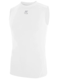 ADULT THERMADRY COMPRESSION SHORT -- WHITE