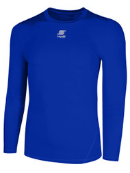 ADULT THERMADRY LONG SLEEVE PERFORMANCE TOP -- ROYAL BLUE