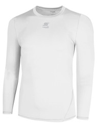 ADULT THERMADRY LONG SLEEVE PERFORMANCE TOP -- WHITE