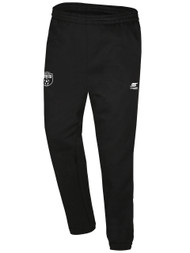 CLARKSTOWN FLEECE SWEATPANTS -- BLACK WHITE