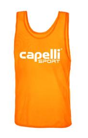 CLARKSTOWN CAPELLI SPORT PRACTICE PINNIE -- ORANGE