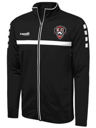 EAST COAST FC SPARROW TRAINING JACKET  -- BLACK WHITE
