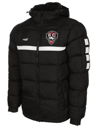 EAST COAST FC SPARROW  WINTER JACKET  -- BLACK WHITE