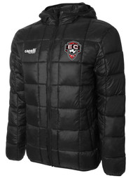 EAST COAST FC BASICS I LIGHTWEIGHT JACKET  -- BLACK WHITE