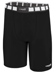EAST COAST FC THERMADRY COMPRESSION SHORTS  -- BLACK