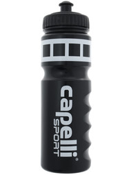 EAST COAST FC  CAPELLI SPORT WATER BOTTLE  -- BLACK WHITE