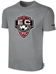 EAST COAST FC  BASICS T-SHIRT-- LIGHT HEATHER GREY