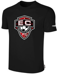 EAST COAST FC  BASICS T-SHIRT-- BLACK, SIZE AXXL ON BACK ORDER WILL SHIP BY 3/20