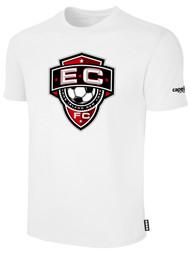 EAST COAST FC  BASICS T-SHIRT--WHITE