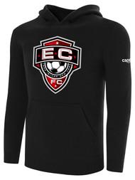 EAST COAST FC BASICS HOODIE  --BLACK