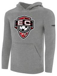 EAST COAST FC BASICS HOODIE  -- LIGHT HEATHER GREY