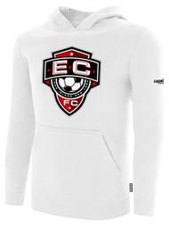 EAST COAST FC BASICS HOODIE  -- WHITE