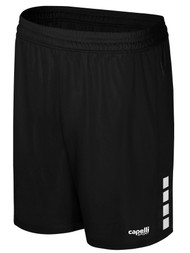 LOUDOUN BOYS  TRAVEL MANDATORY  MANHATTAN MATCH HOME SHORTS    2 --  BLACK