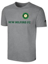 NEW MILFORD FC BASICS I T-SHIRT -- LIGHT HEATHER GREY