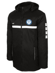 SPARROW STADIUM COAT -- BLACK WHITE