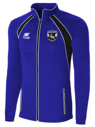 RAVEN TRAINING JACKET --   ROYAL BLUE BLACK