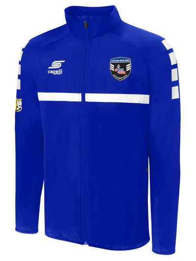 199178ed802 SPARROW TRAINING JACKET -- ROYAL BLUE WHITE - Capelli Sport