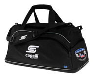 CS ONE DUFFLE BAG -- BLACK WHITE