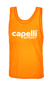 CAPELLI SPORT PRACTICE PINNIE -- ORANGE