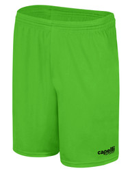 LOUDOUN GIRLS GOALKEEPER ECNL  CS ONE SHORTS  -- POWER GREEN BLACK