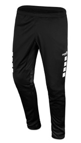 LOUDOUN GIRLS GOALKEEPER ECNL SPARROW TRAINING PANTS  -- BLACK WHITE