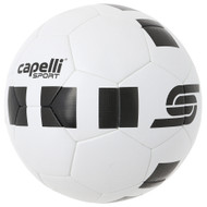 4 CUBE SOCCER BALL -- WHITE BLACK