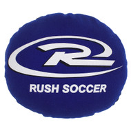 WASHINGTON RUSH FLEECE PILLOW   -- BLUE COMBO