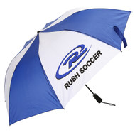 RUSH WISCONSIN UMBRELLA  --  BLUE WHITE