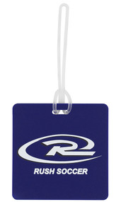 RUSH WISCONSIN  BAG TAG  -- BLUE COMBO