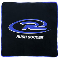 RUSH WISCONSIN WEST SOFT BOA PILLOW   -- BACK COMBO