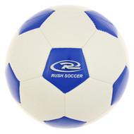 RUSH WYOMING MINI SOCCER BALL -- WHITE ROYAL BLUE