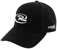 QUAD CITIES RUSH CS II TEAM BASEBALL CAP -- BLACK WHITE