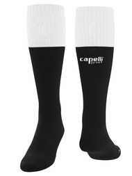COAST FA CS CONDOR MATCH SOCKS  -- BLACK WHITE