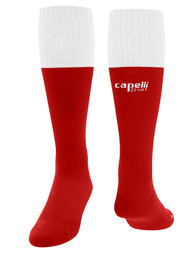 COAST FA CS CONDOR MATCH SOCKS  -- RED WHITE