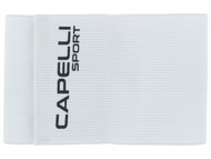 CAPELLI SPORT ADULT CAPTAIN ARM  BAND  -- WHITE