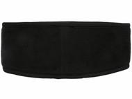 RUSH JUNEAU CAPELLI SPORT FLEECE HEADWRAP -- BLACK WHITE