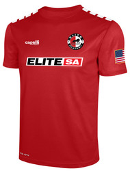 ELITE SA  AWAY CS ONE SHORT SLEEVE MATCH JERSEY --  RED