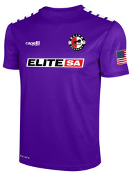 ELITE SA  ALTERNATE CS ONE SHORT SLEEVE MATCH JERSEY --  PURPLE