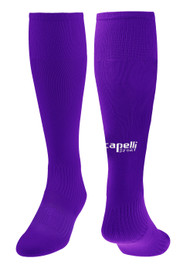 ELITE SA CS ONE SOFT II SOCKS -- PURPLE