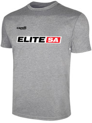 ELITE SA BASICS TRAINING JERSEY  -- LIGHT HEATHER GREY