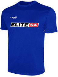 ELITE SA BASICS TRAINING JERSEY  -- ROYAL BLUE WHITE
