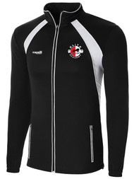 ELITE SA RAVEN TRAINING JACKET  -- BLACK WHITE