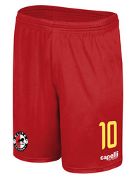 ELITE SA  AWAY  CS ONE MATCH SHORTS -- RED