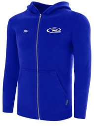 NORTHERN CALIFORNIA RUSH BASICS ZIP UP HOODIE --ROYAL BLUE