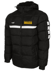 SACHEM SPARROW WINTER JACKET -  BLACK  WHITE