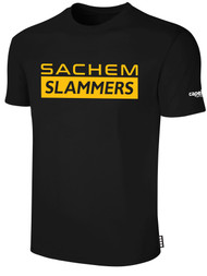 SACHEM  BASICS TEE SHIRT --   BLACK