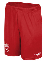 CLARKSTOWN  AWAY AND TRAINING SHORTS  --  RED