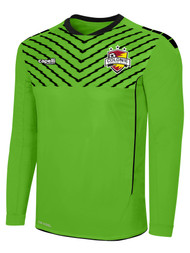 COLONIE SC GOALIE JERSEY--  POWER GREEN BLACK