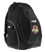 COLONIE SC CS UTILITY BACKPACK--  BLACK WHITE