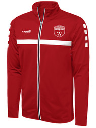 CLARKSTOWN  SPARROW TRAINING JACKET  --  RED WHITE